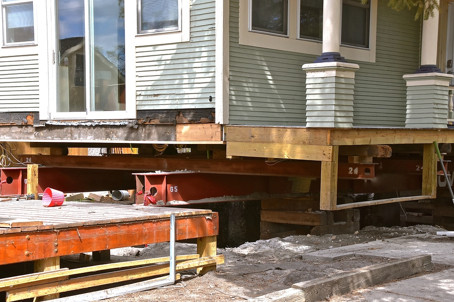 fixing the foundation of the house